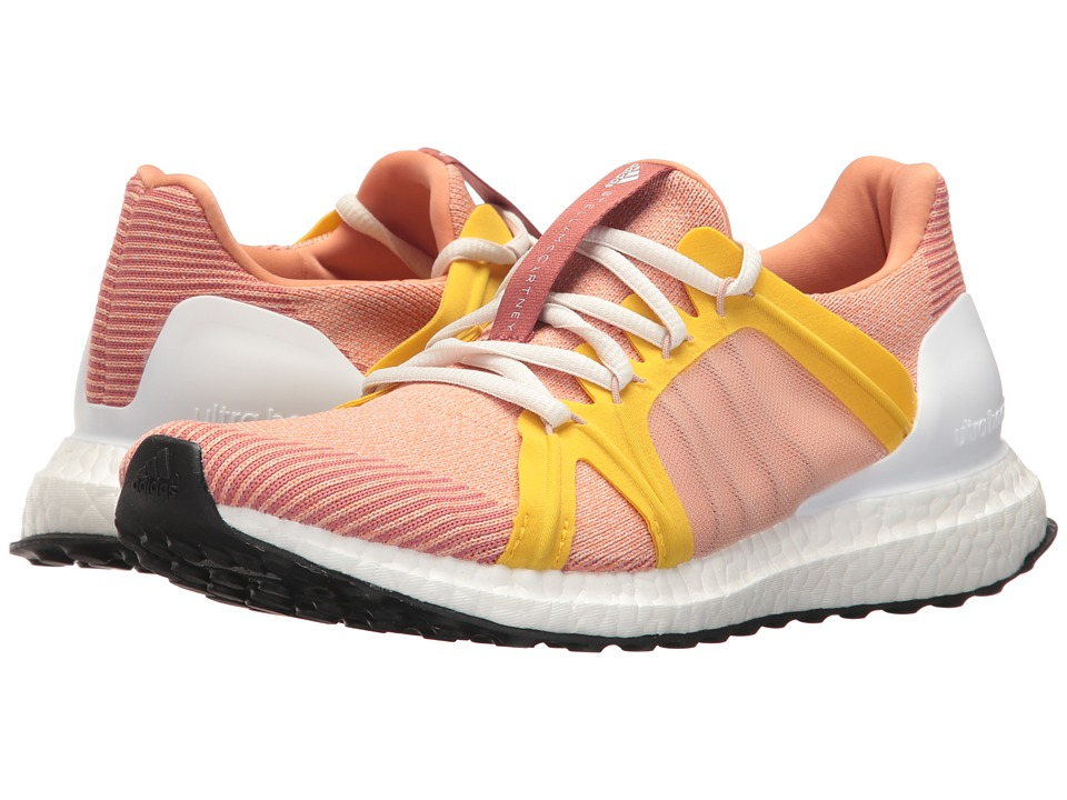 adidas by Stella McCartney - Ultra Boost (Apricot Rose/SMC/Pearl Rose/SMC/Super Yellow F15) Womens Running Shoes