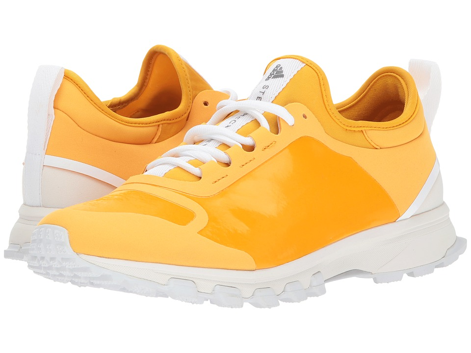 Image of adidas by Stella McCartney - Adizero Xt (Deep Yellow F04/Chalk White/Radiant Orange F10) Women's Running Shoes