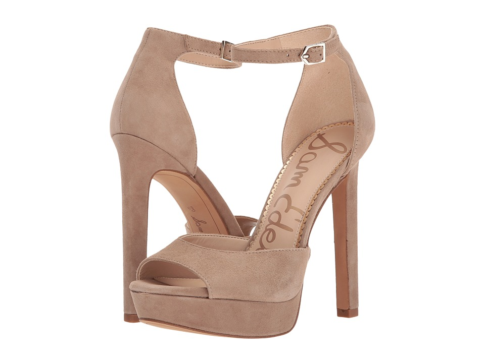Sam Edelman - Wallace (Oatmeal Kid Suede Leather) High Heels