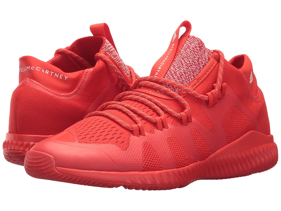adidas by Stella McCartney CrazyTrain Bounce Mid (Core Red S17/Core Red S17/Footwear White) Women