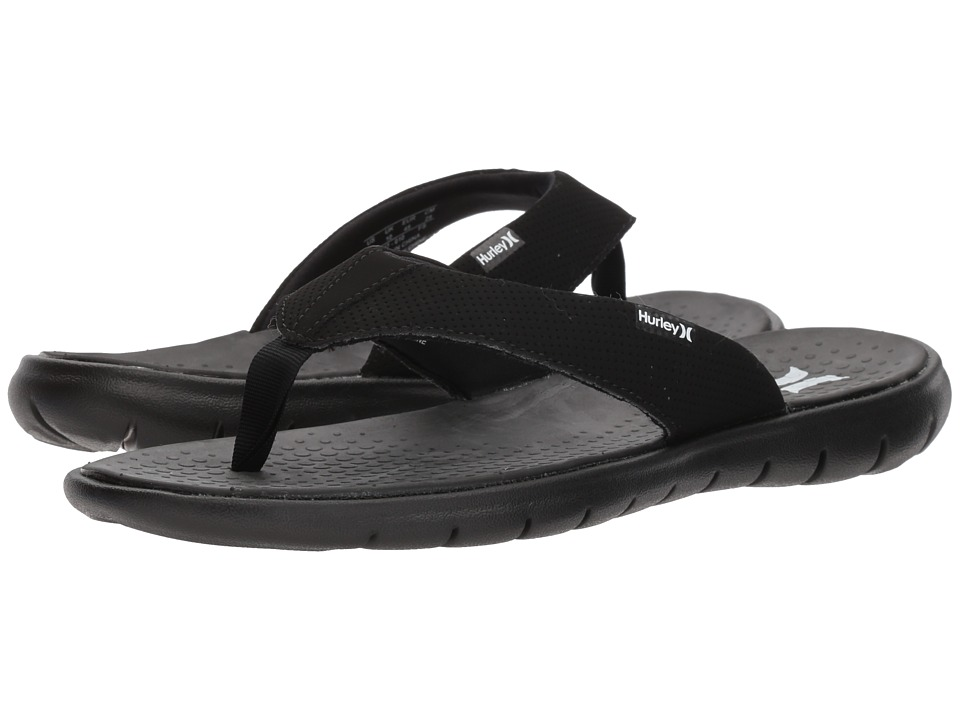 Hurley - Flex 2.0 Sandal (Black) Men's Sandals