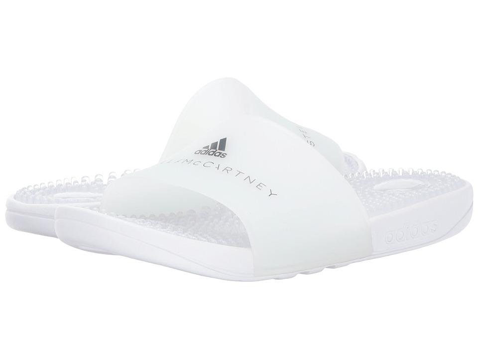 Image of adidas by Stella McCartney - Adissage (Footwear White/Footwear White/Grey Four F17) Women's Sandals