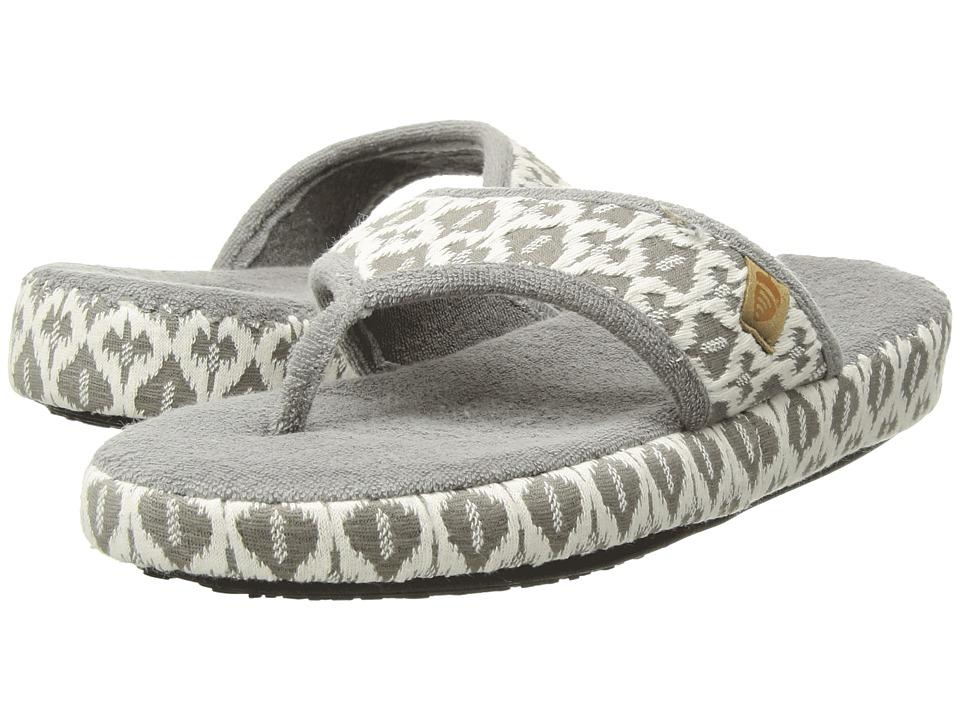 Acorn Thong Summerweight (Ash Tribal) Slippers