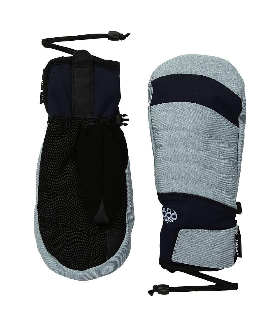 686 Infiloft Majesty Mitt (Light Blue Denim) Extreme Cold Weather Gloves