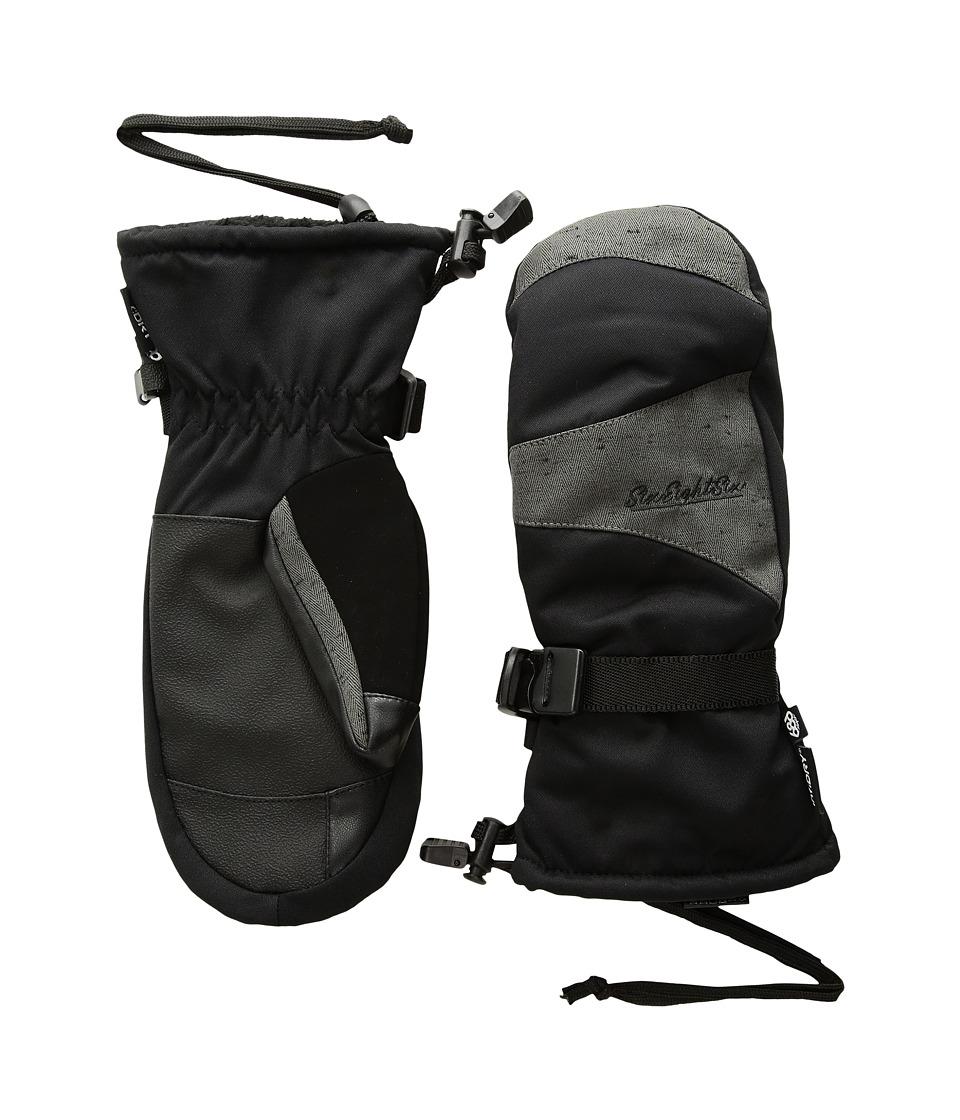 686 Paige Mitt (Black Slub) Extreme Cold Weather Gloves
