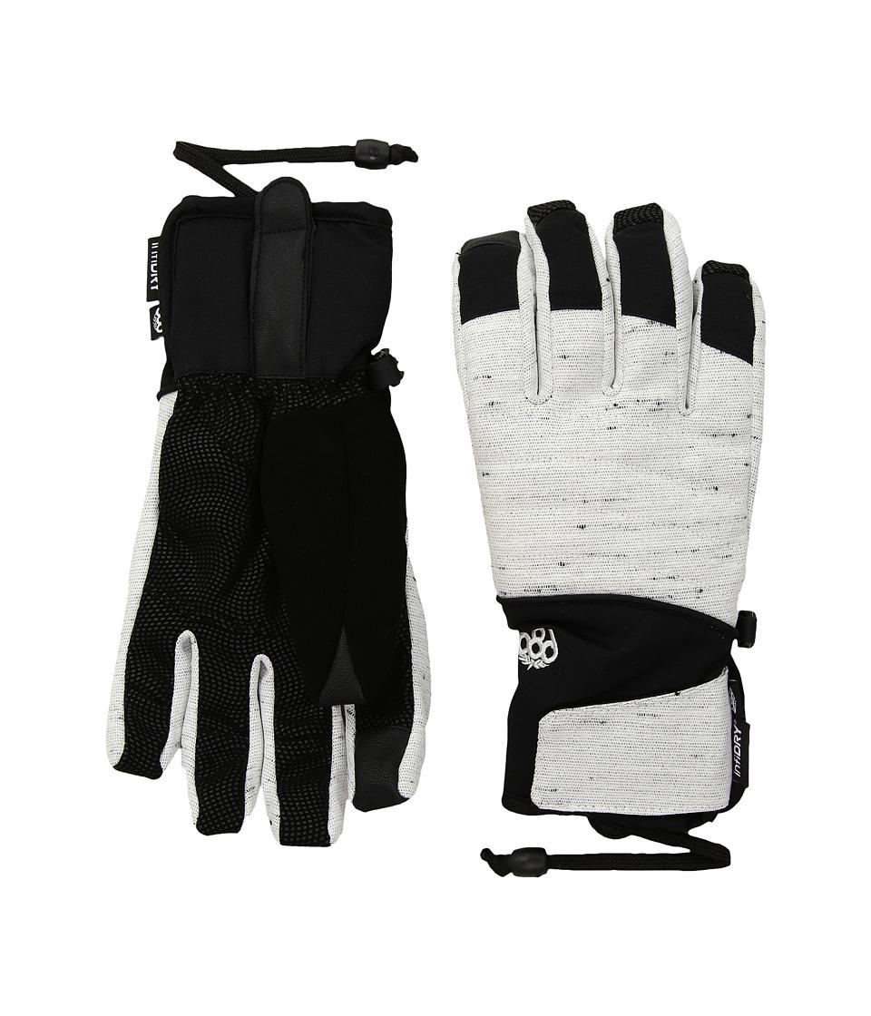 686 Infiloft Majesty Gloves (White Slub) Extreme Cold Weather Gloves