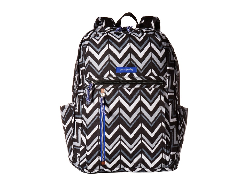 Vera Bradley Grand Backpack (Lotus Chevron) Backpack Bags