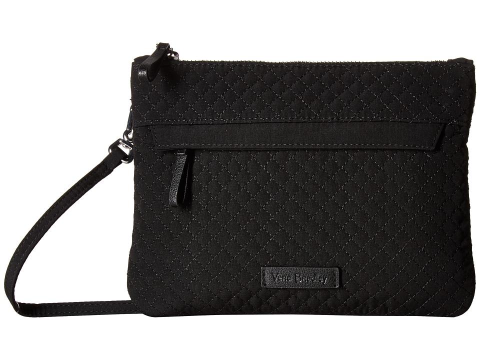 Vera Bradley - Iconic Custom Crossbody (Snow Lotus) Cross Body Handbags