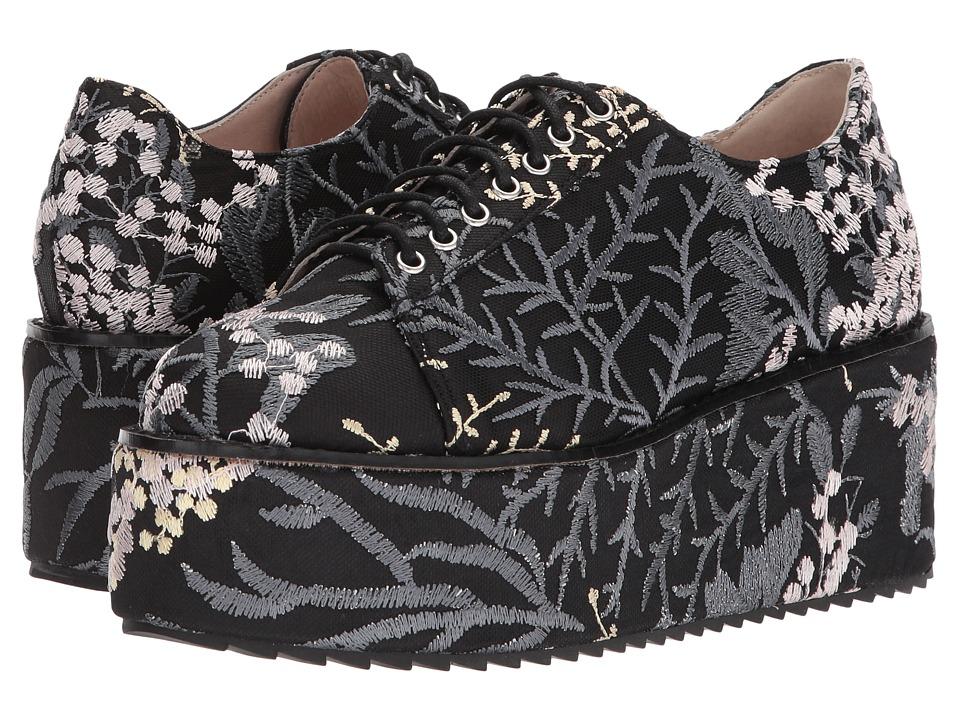 Shellys London Honolulu (Black Floral) Women