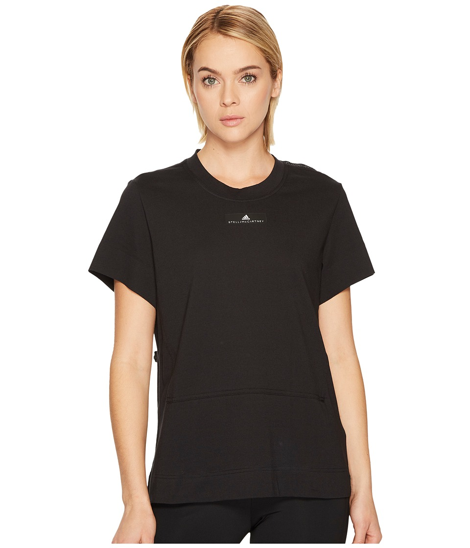 adidas by Stella McCartney Run Loose Tee BQ8380 (Black) Women