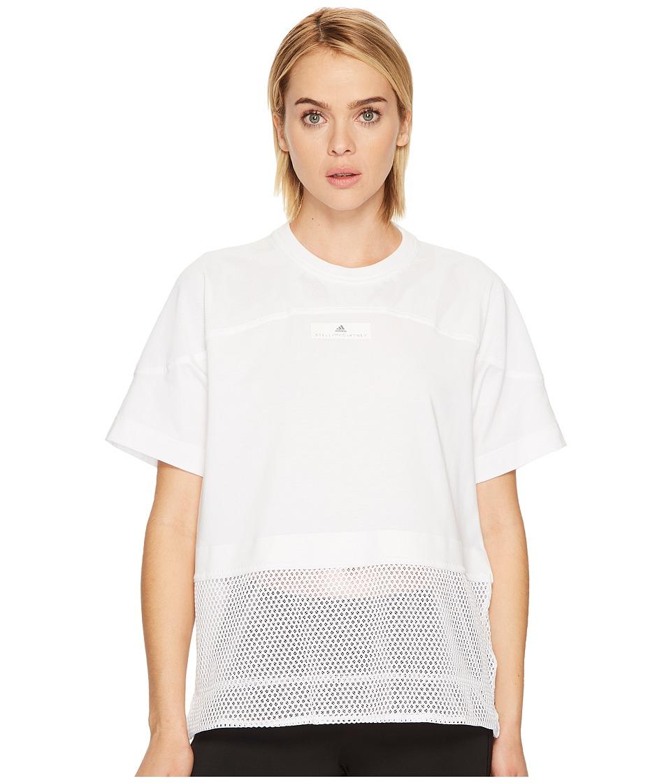 adidas by Stella McCartney Essentials Mesh Tee CE8522 (White) Women
