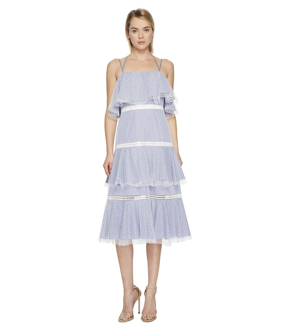 Prabal Gurung - Halter Strap Tiered Dress