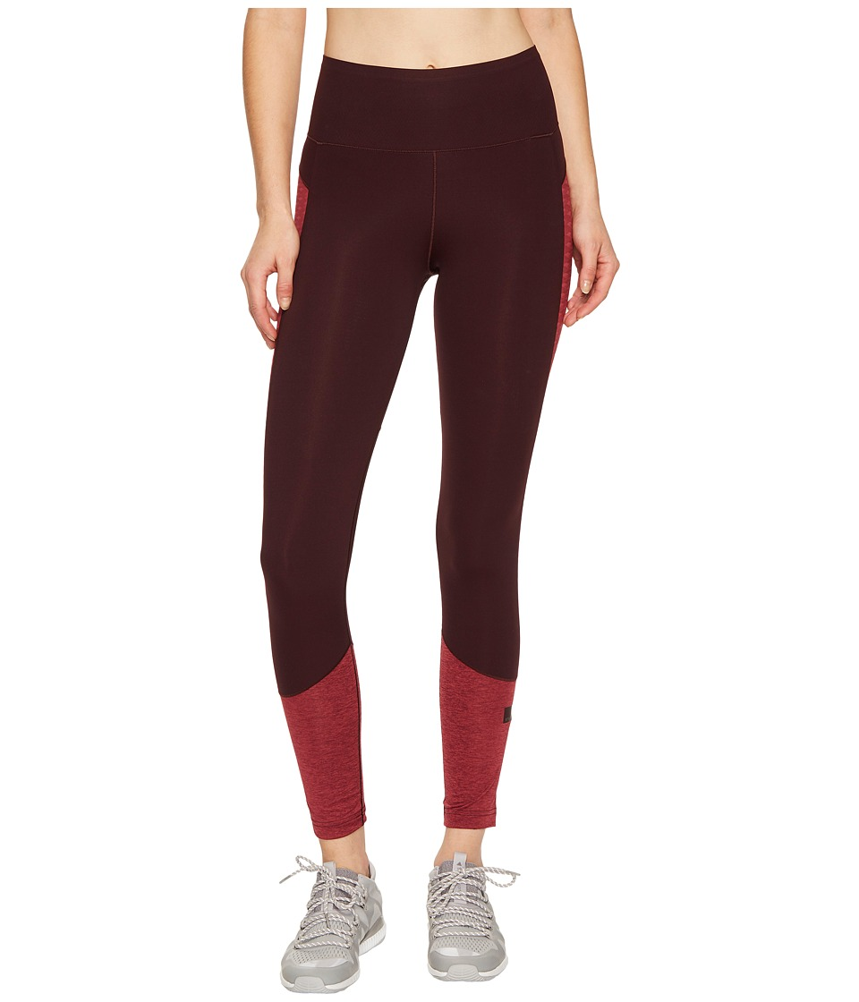 adidas by Stella McCartney Train Ultra Tights BS1370 (Dark Burgundy F12/Legend Red S10) Women