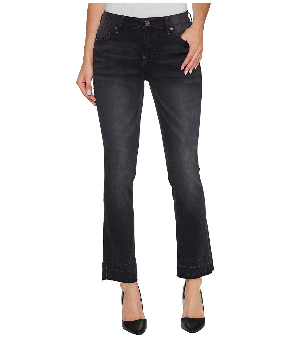 Jag Jeans Haven Ankle Flare Pants in Black/Undone Hem (Black/Undone Hem) Women