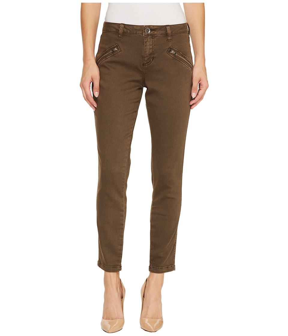 Jag Jeans Ryan Skinny Colored Knit Denim in Saddle (Saddle) Women