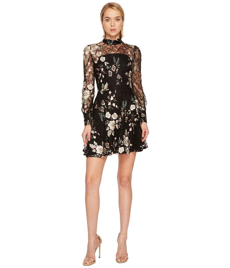 ZAC Zac Posen Zarina Dress (Black Multi) Women