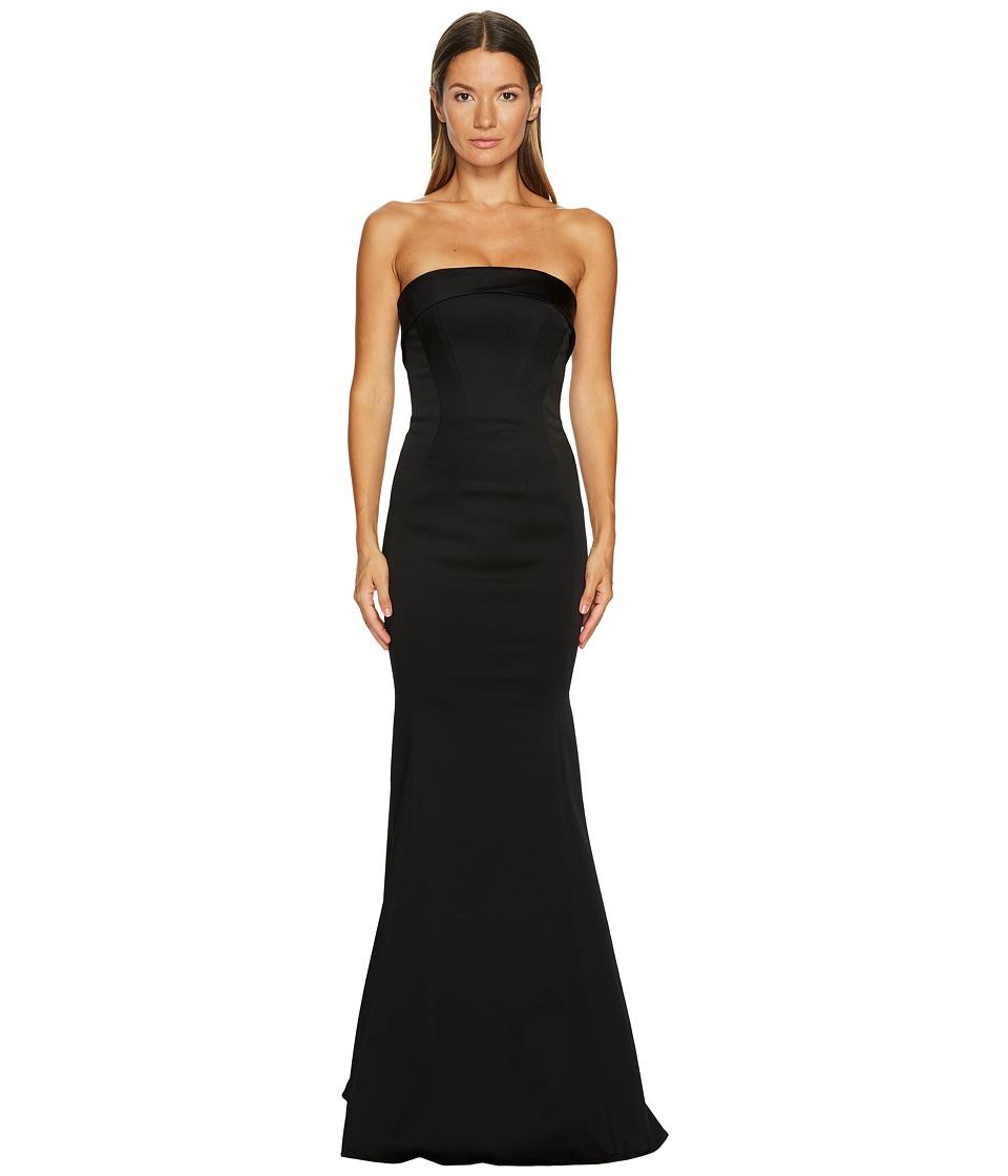 ZAC Zac Posen Malena Gown (Black) Women