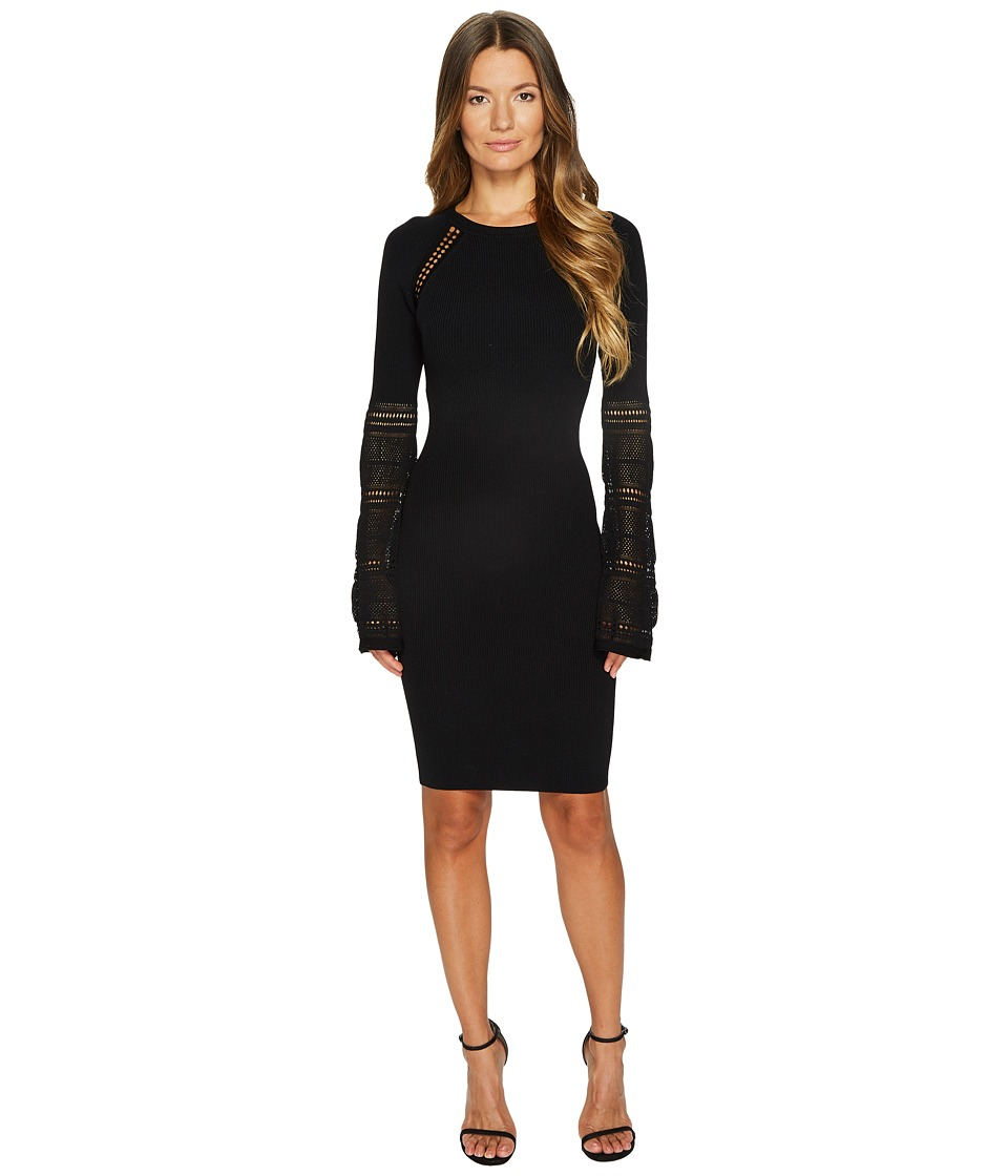 ZAC Zac Posen Jill Sweater Dress (Black) Women