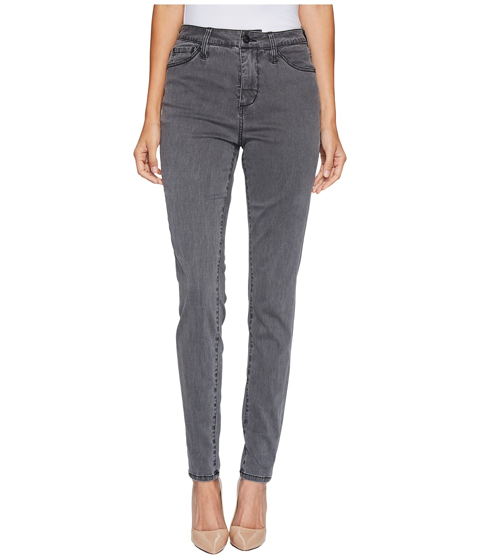 Jag Jeans Gwen High-Rise Skinny in Lush Sateen (Washed Black) Women