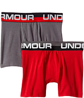 Under Armour Kids - 2-Pack Cotton Boxer Brief (Big Kids)