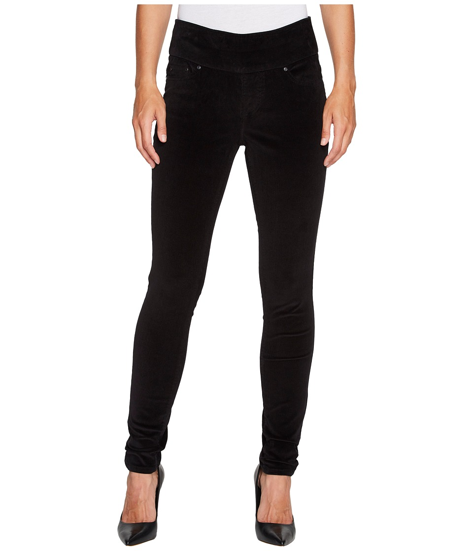 Jag Jeans Nora Pull-On Skinny in Refined Corduroy (Black) Women