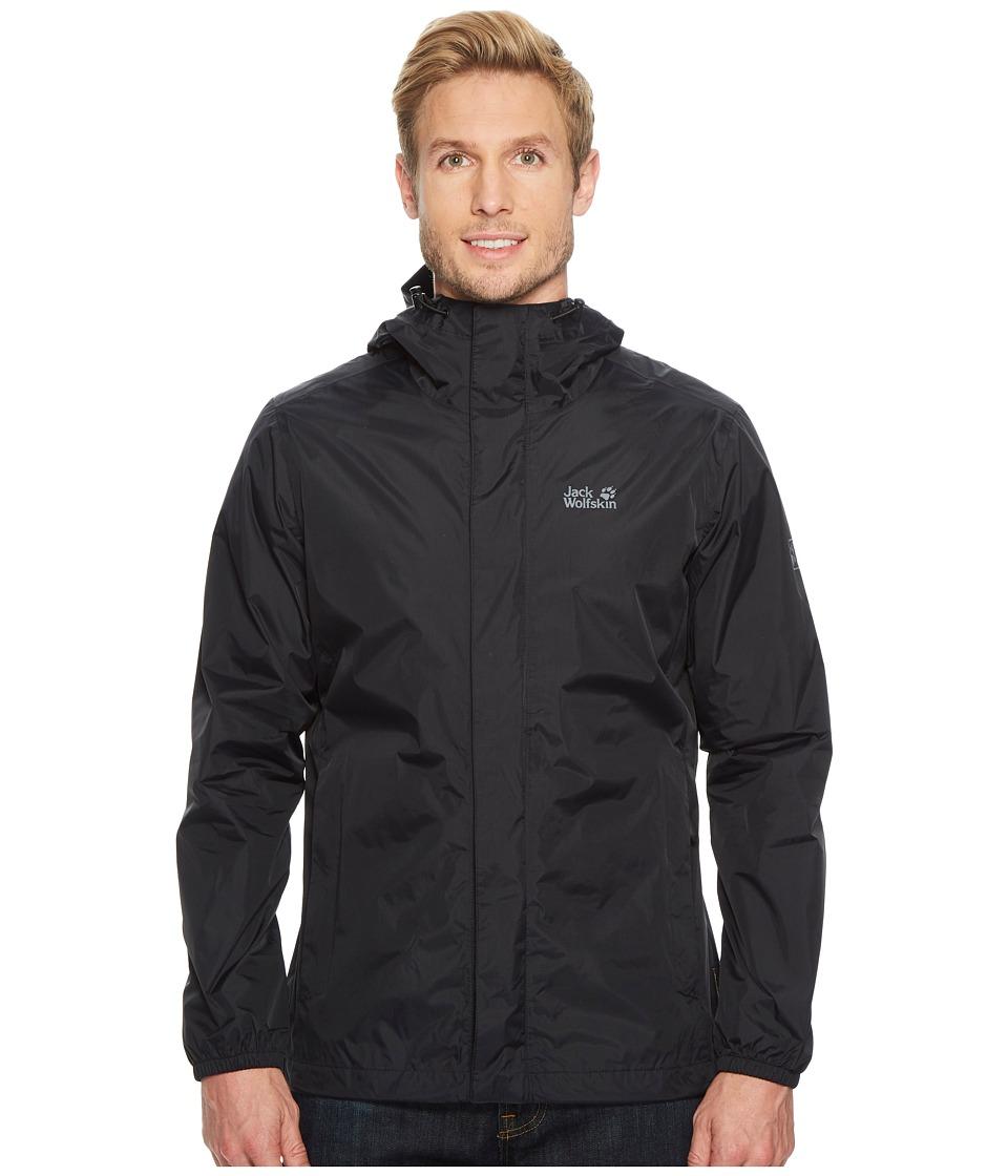 Jack Wolfskin - Cloudburst Jacket (Black) Mens Coat