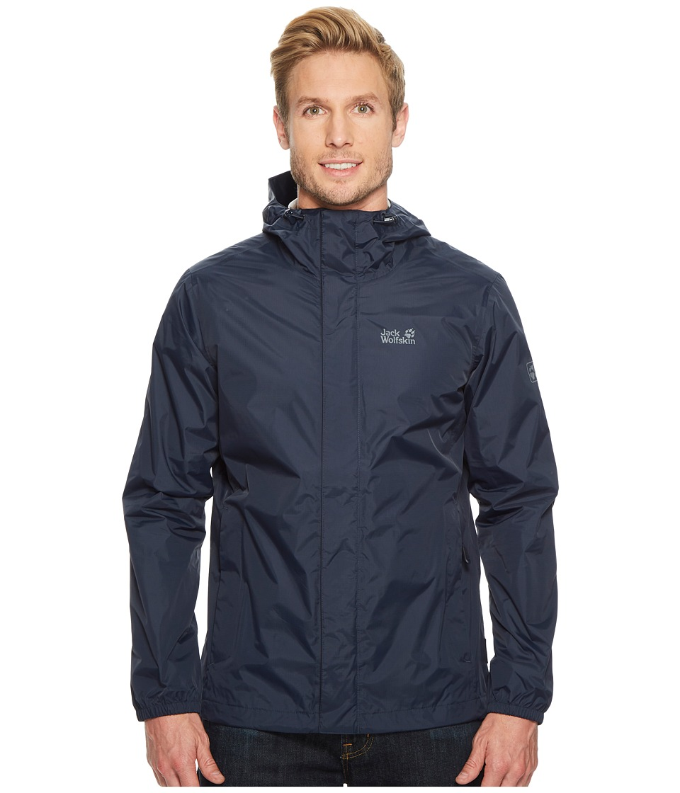 Jack Wolfskin Cloudburst Jacket (Night Blue) Men