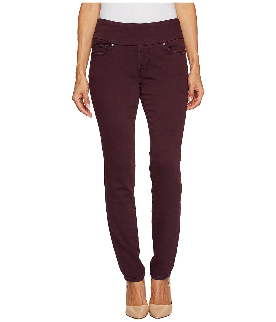Jag Jeans Petite Petite Nora Pull-On Skinny in Knit Denim (Plum Noir) Women