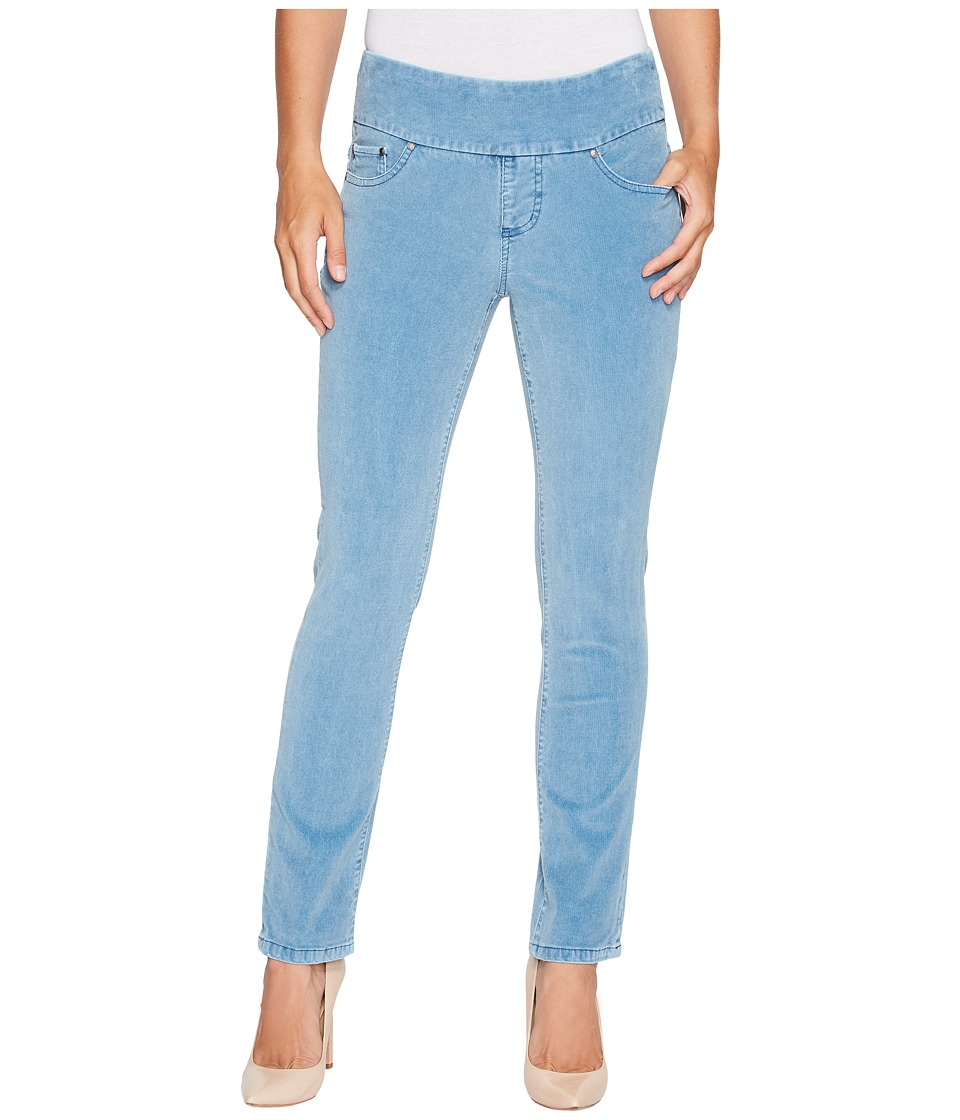 Jag Jeans Petite Petite Peri Pull-On Straight in Refined Corduroy (Blue Spruce) Women