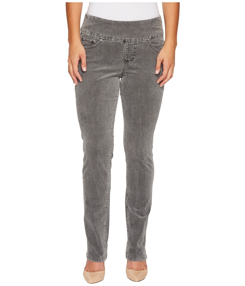 Jag Jeans Petite Petite Peri Pull-On Straight in Refined Corduroy (Charred) Women