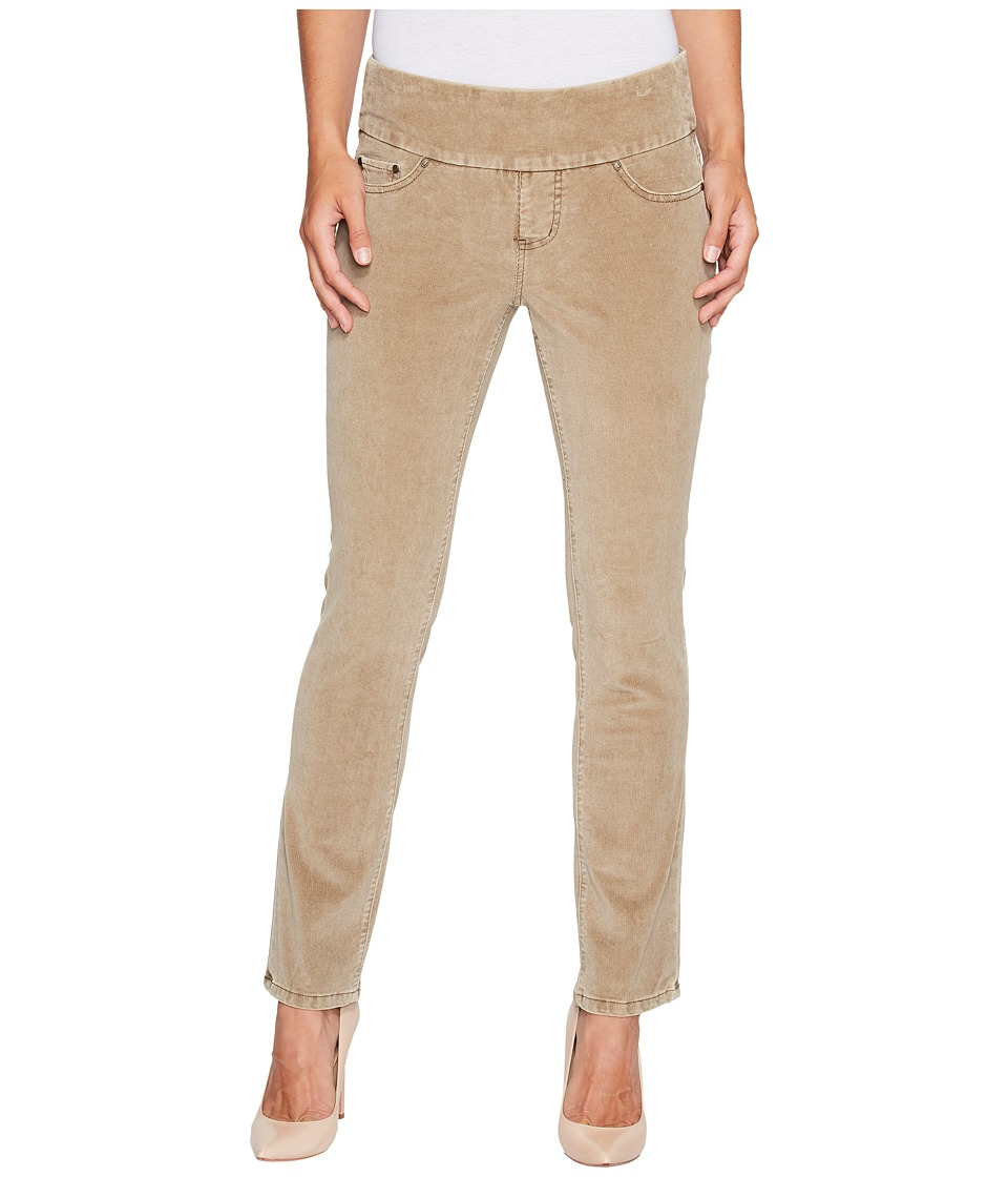Jag Jeans Petite Petite Peri Pull-On Straight in Refined Corduroy (Toffee) Women