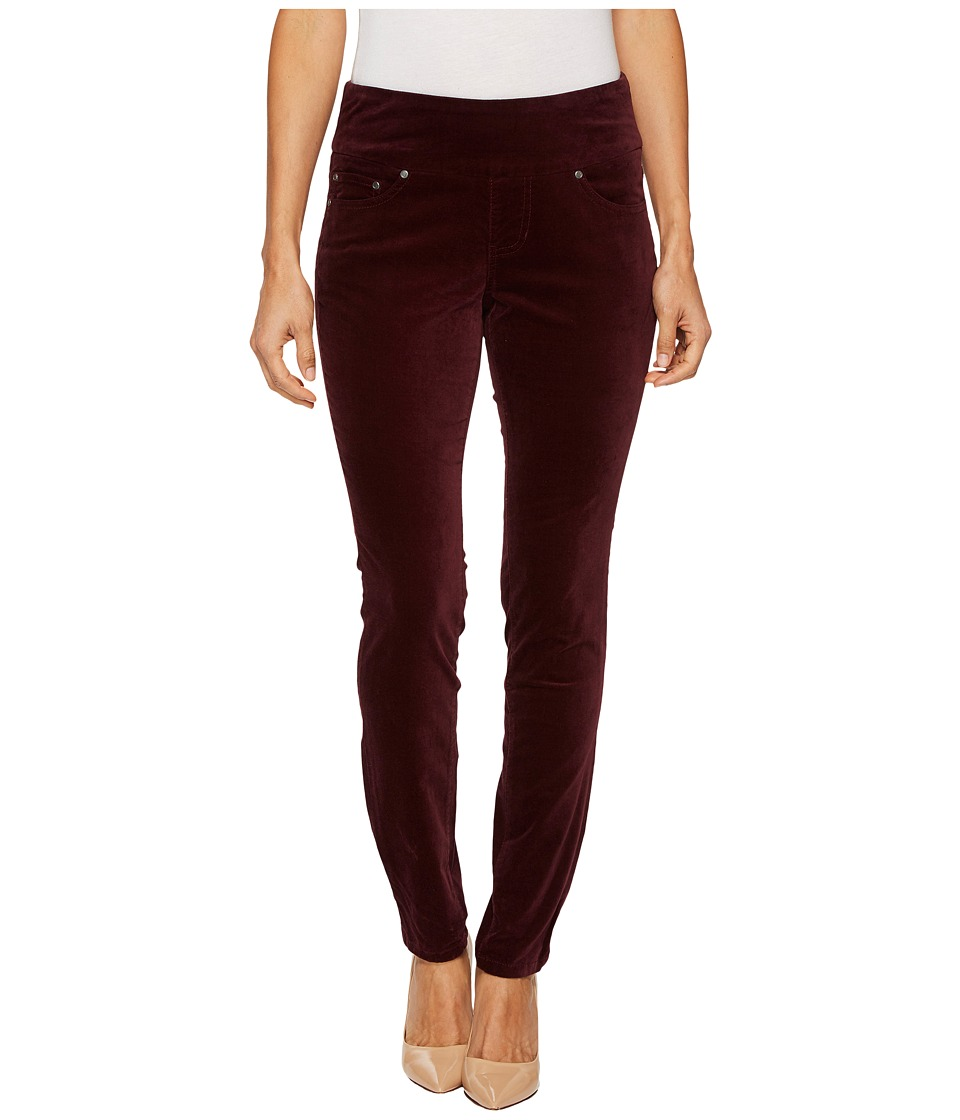 Jag Jeans Petite Petite Nora Pull-On Skinny in Soft Touch Velveteen (Zin) Women