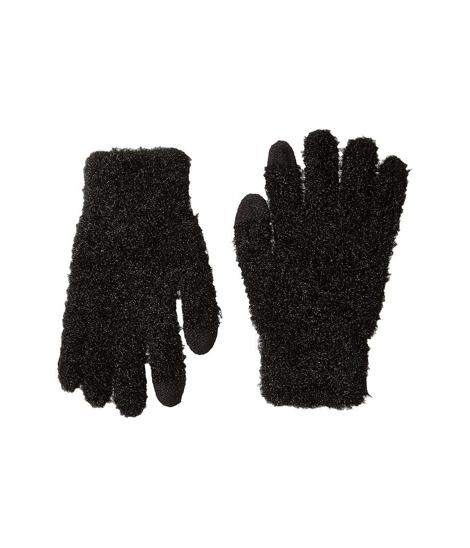 Betsey Johnson Must Be Magic Etouch Gloves (Black) Dress Gloves