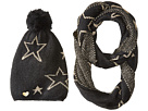 Betsey Johnson Star Struck Two-Piece Set Infinity Beanie