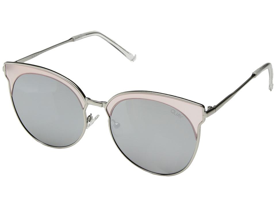 QUAY AUSTRALIA Mia Bella (Pink/Silver) Fashion Sunglasses