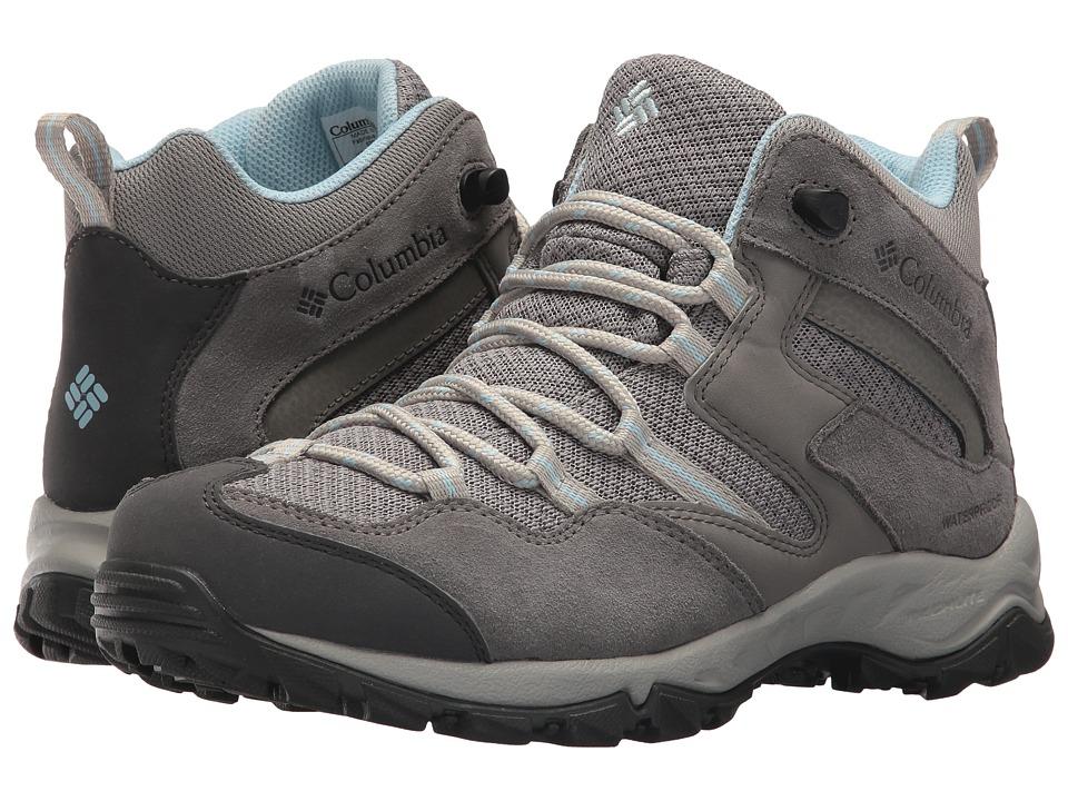 Columbia Maiden Peaktm Mid Waterproof (Stratus/Oxygen) Women's Shoes
