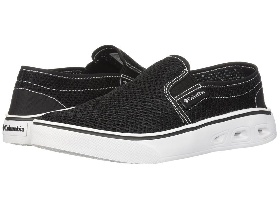 Columbia Spinner Vent Moc (Black/White) Women's Shoes