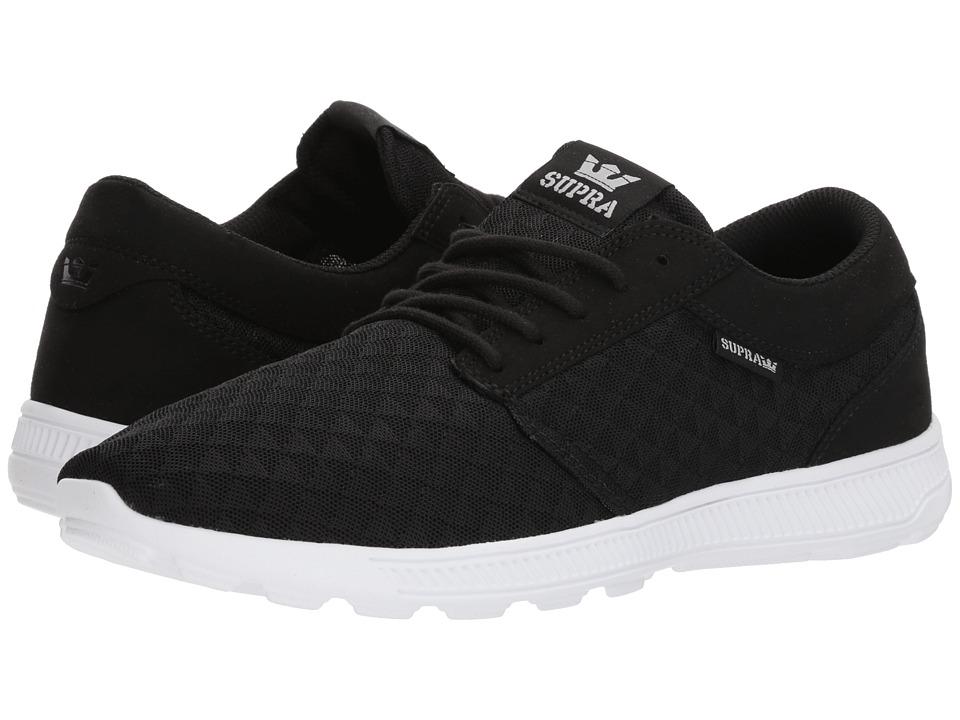 Supra Hammer Run (Black/Light Grey/White) Men