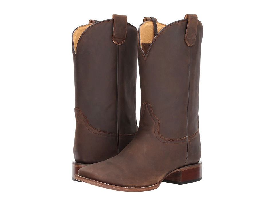 Roper Undercover (Brown Leather Vamp) Cowboy Boots