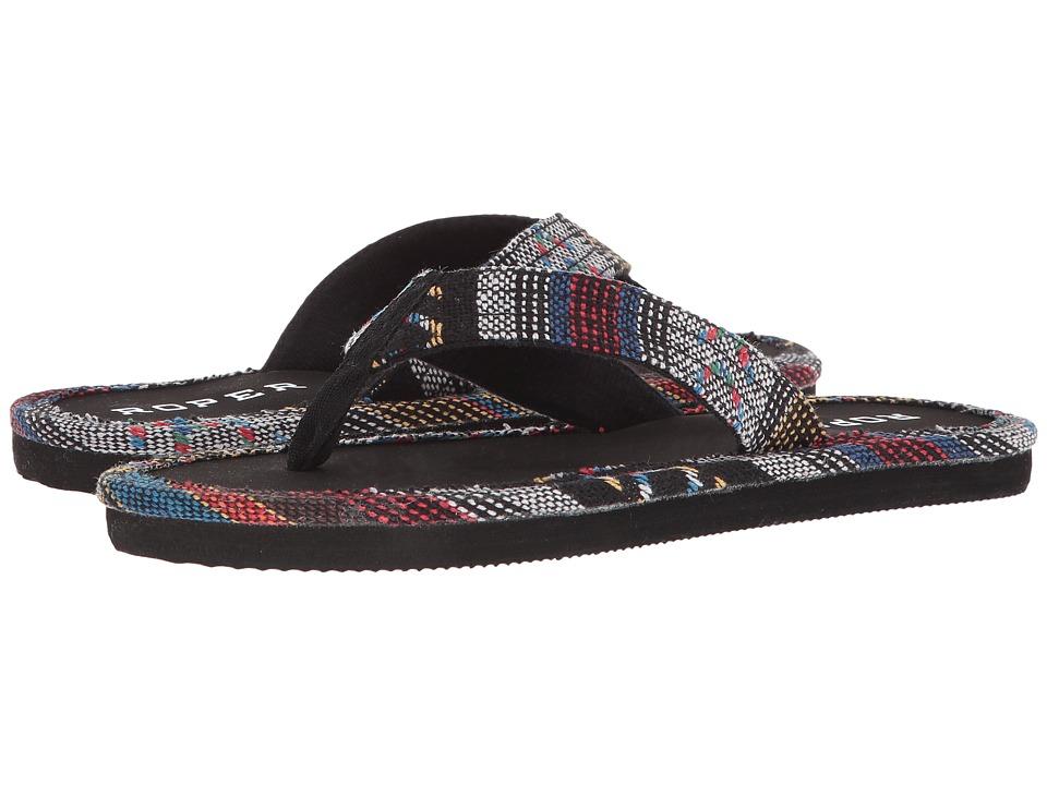 Roper Ella (Black) Sandals