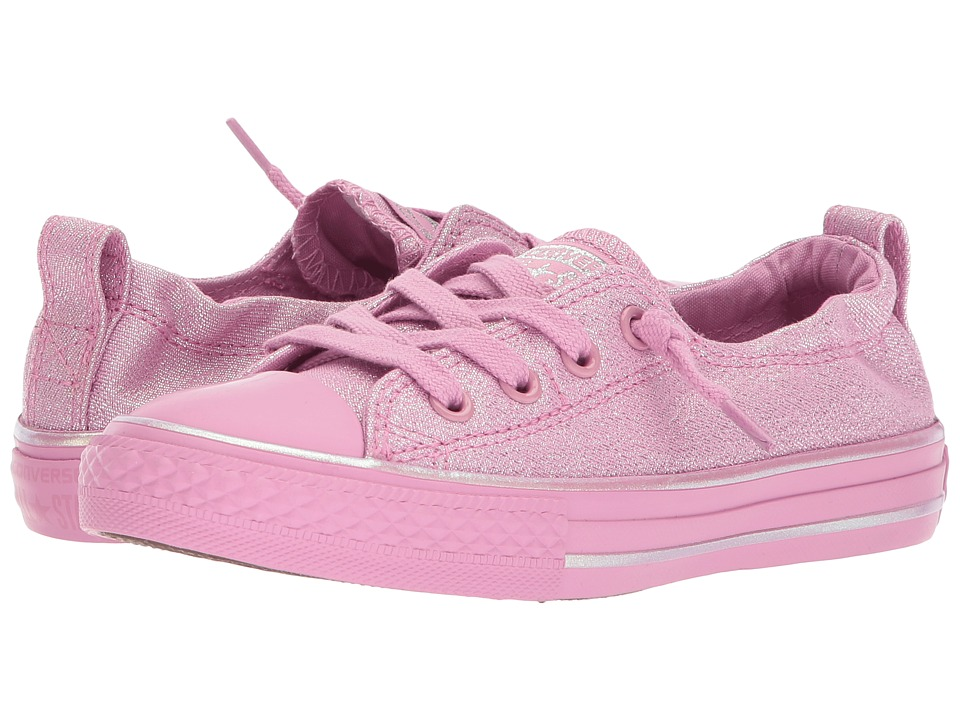 Converse Kids - Chuck Taylor All Star Shoreline Slip (Little Kid/Big Kid) (Light Orchid/Light Orchid) Girls Shoes