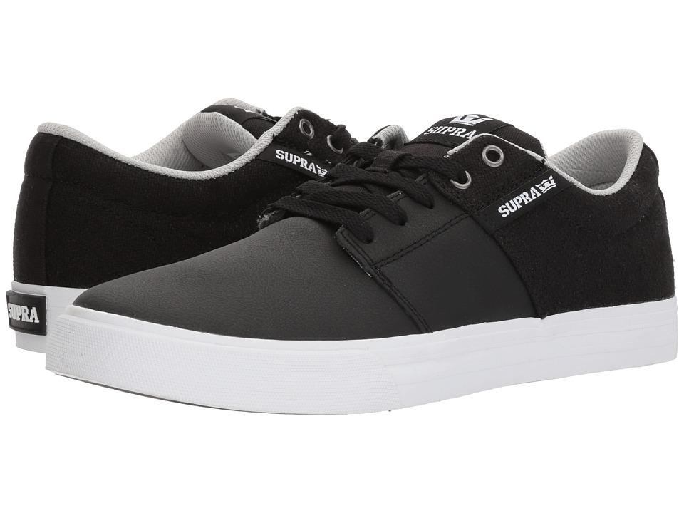 Supra Stacks Vulc II (Black/Cool Grey/White) Men
