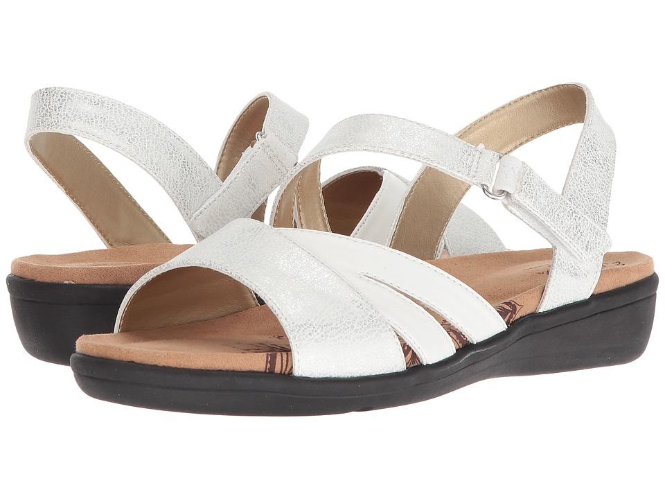 Soft Style Pavi (White Mist) Sandals