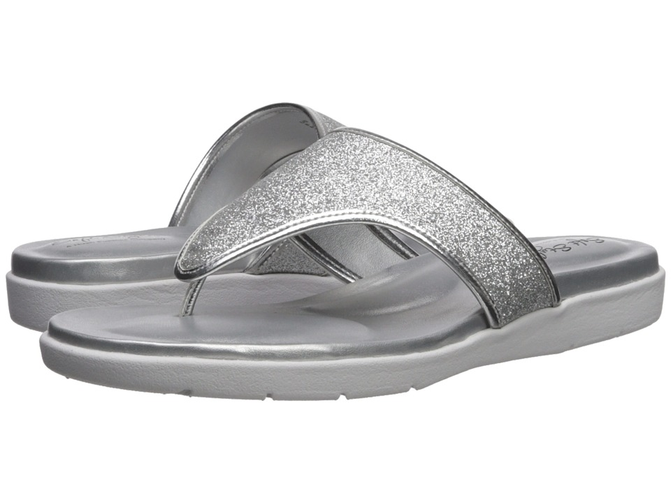 Soft Style Loralei (Silver Glitter) Sandals