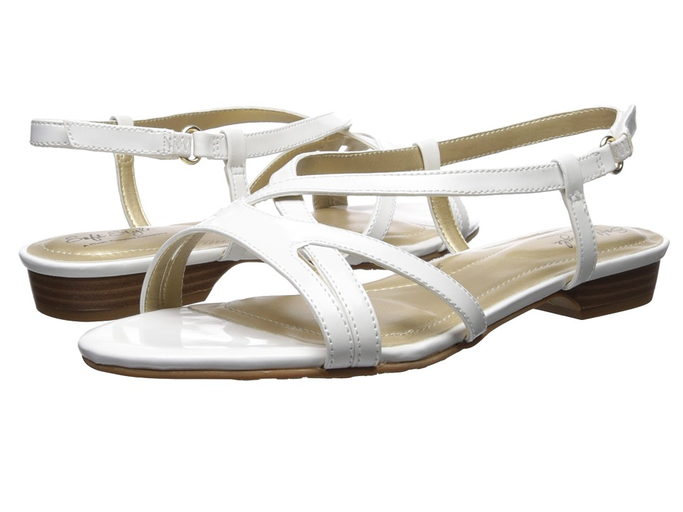 Soft Style Maisy (White Patent) Women's Dress Sandals