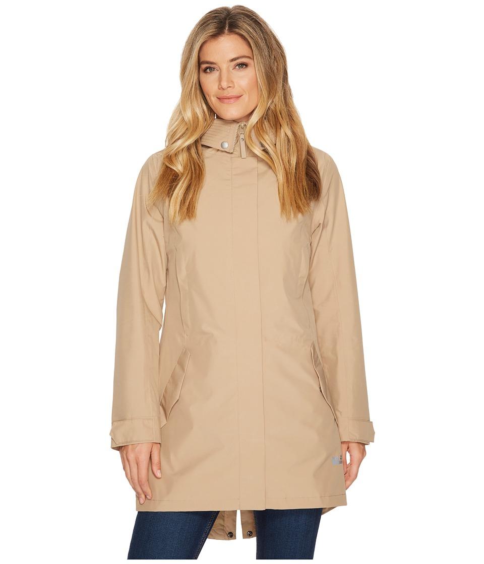 Jack Wolfskin - Monterey Coat (Sand Dune) Womens Coat