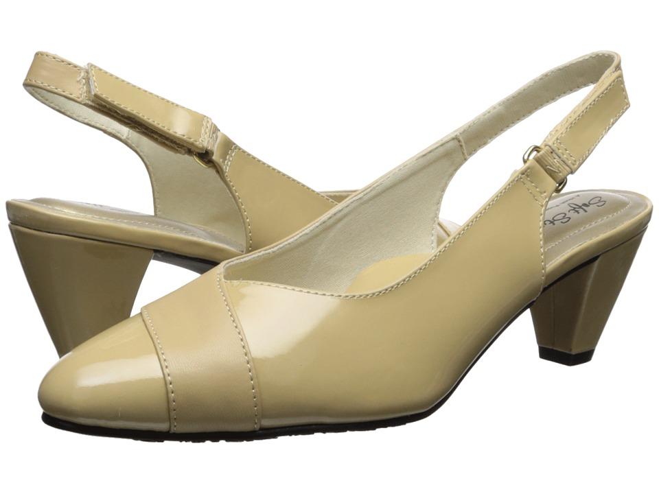 Soft Style - Dagmar (Starfish Kid/Patent) Womens Sling Back Shoes