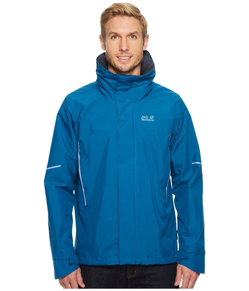 Jack Wolfskin - Escalante Jacket (Glacier Blue) Mens Coat