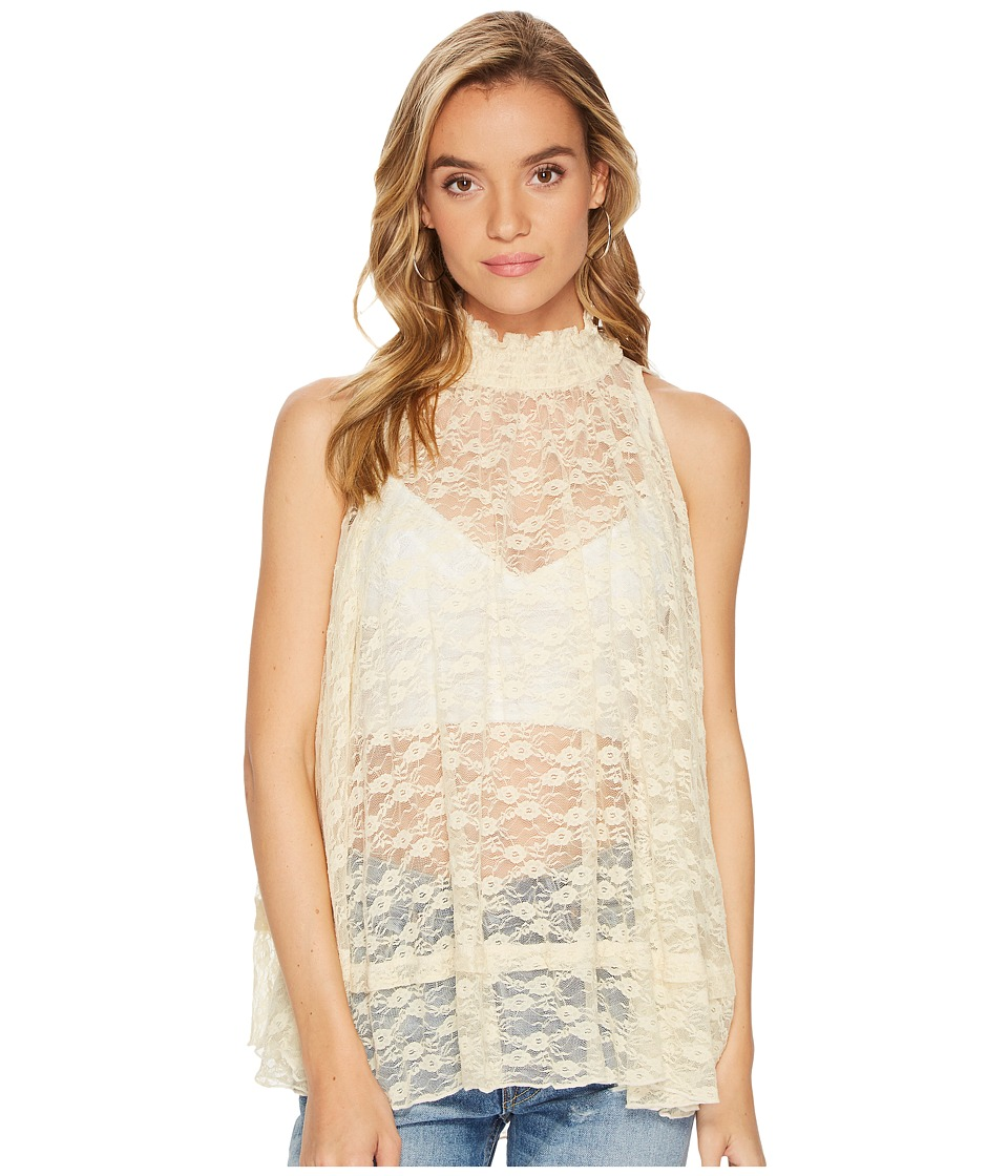 Free People Myrna Tunic Top (Cream) Women