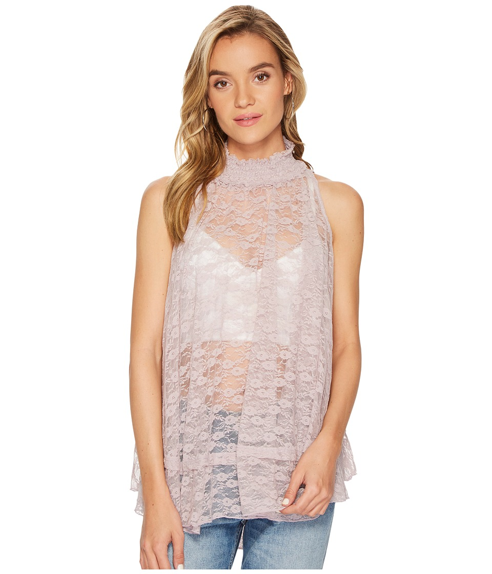 Free People Myrna Tunic Top (Mauve) Women